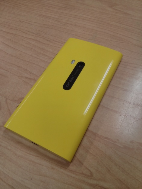 Nokia Lumia back